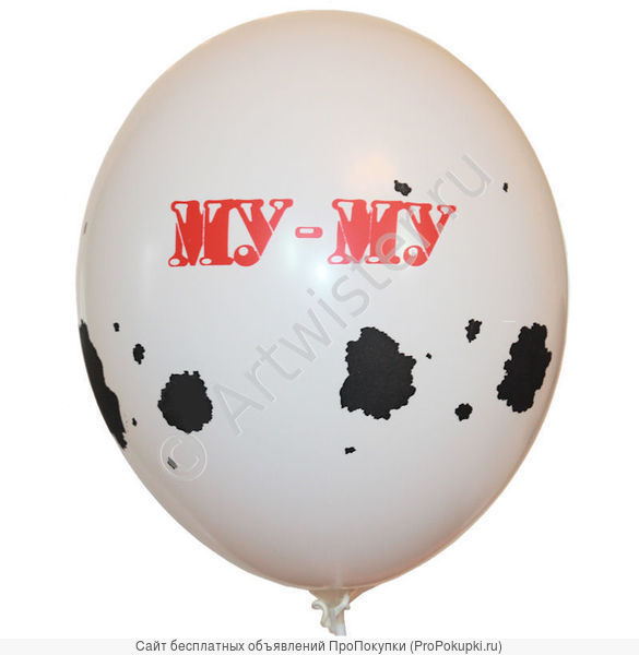 Нанесение логотипа на воздушные шары
