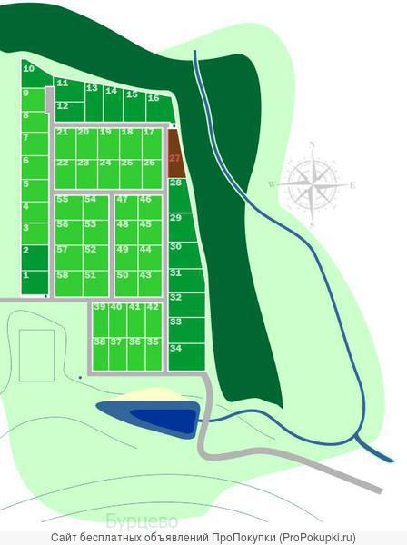 Продаю земельный участок на Новорижском шоссе