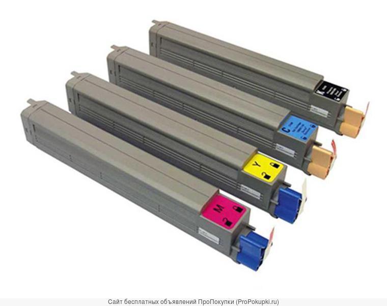 Заправка цветных картриджей OKI С9655