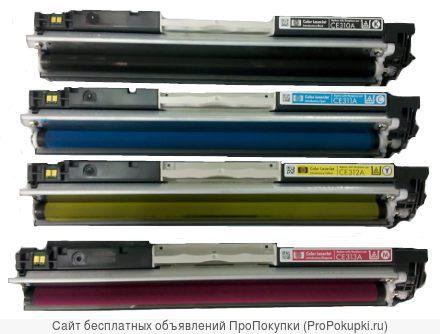 Заправка цветного принтера HP CLJ CP1025/ M175