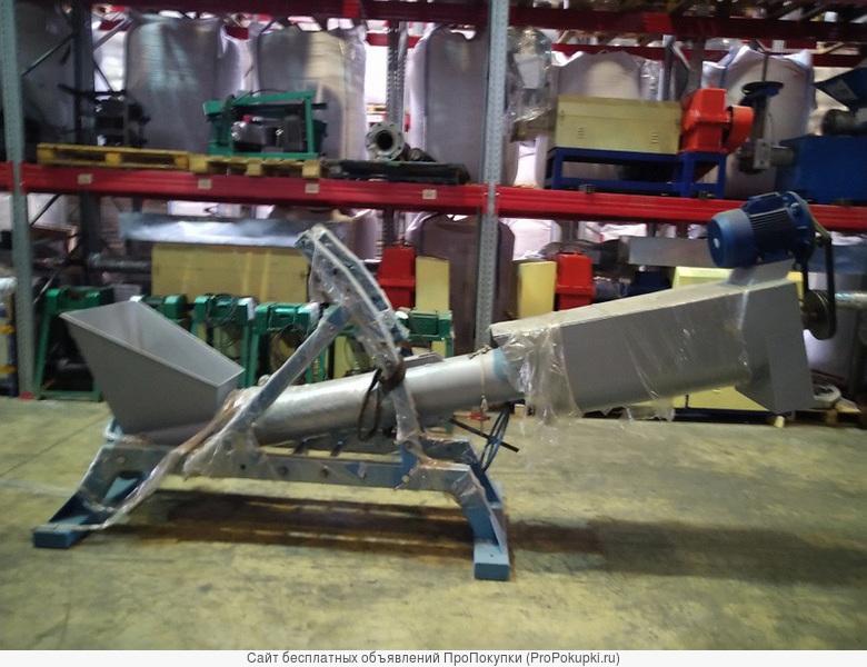 Центрифуга наклонная для линии мойки и сушки пластика