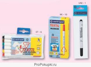 Маркер для текстиля Centropen 2739