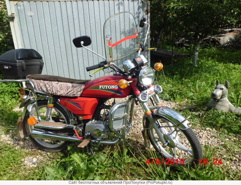 Мотоцикл Futong FT100-10 красный 100см/3