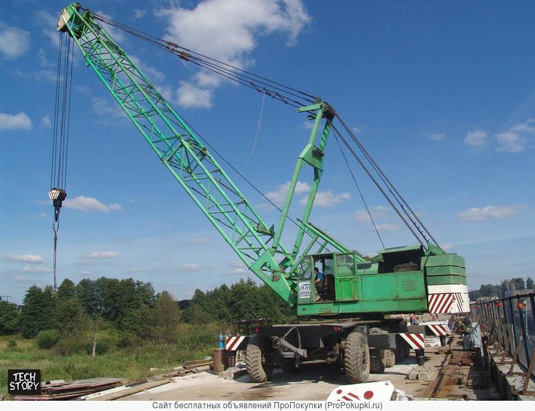 Услуги пневмоколесного крана КС- 8362 100 тонн