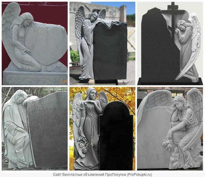 Памятники. Художественная резка, гранит, мрамор