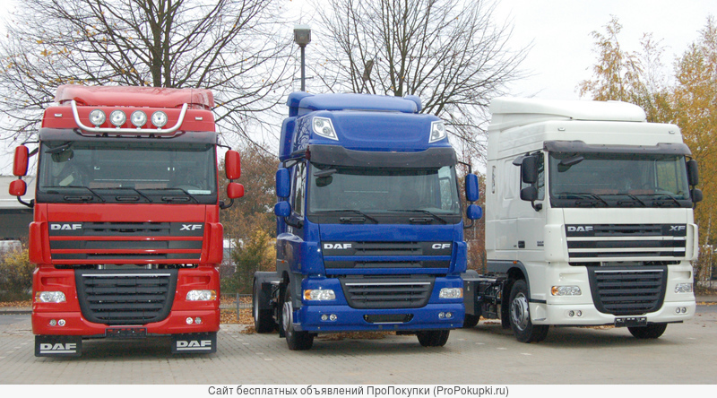 Ремонт грузовиков DAF
