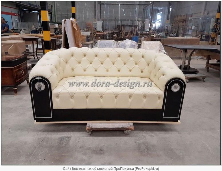 Кожаный диван честер Mariner Gatsby в наличии в Москве