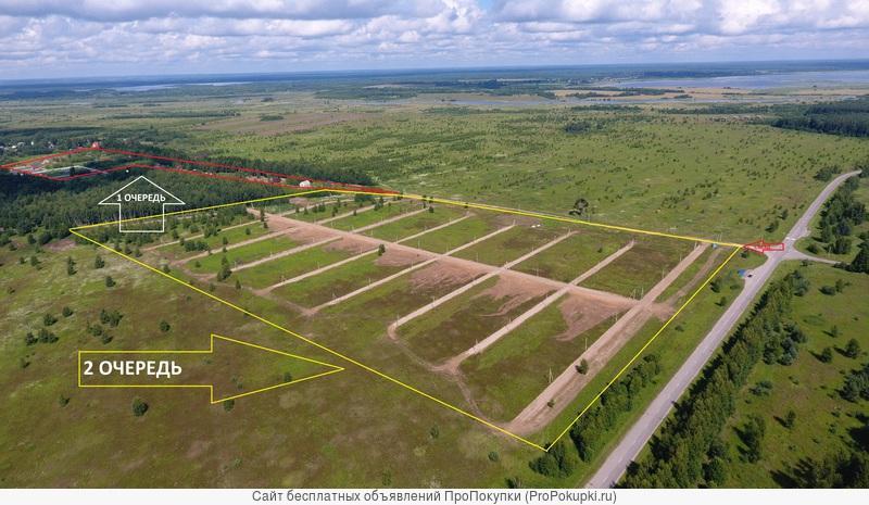 Продам земельный участок в поселке Лесные Озера