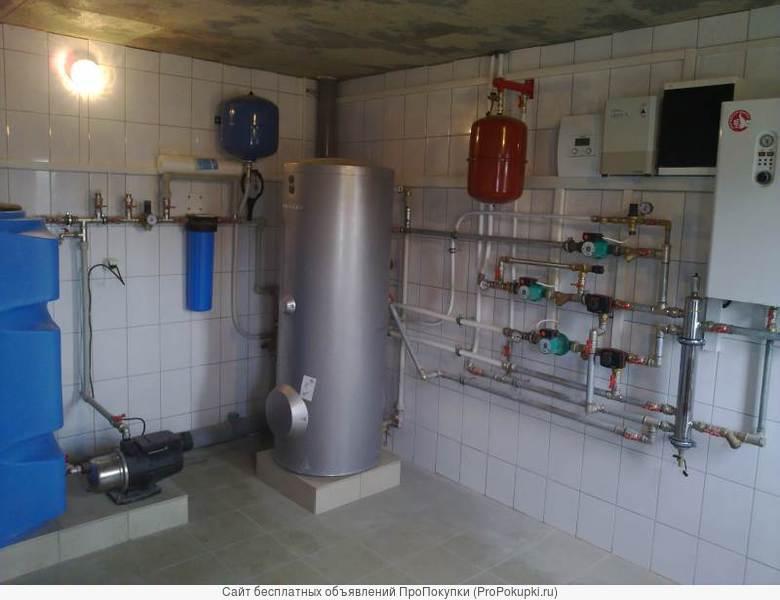 Монтаж теплых полов, систем отопления