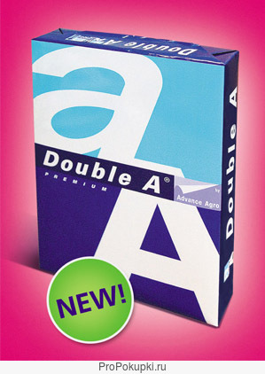 Бумага Double A+ идеальная офисная бумага