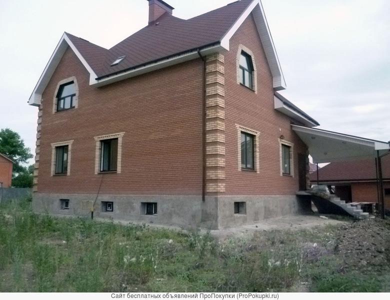 Строительство дома за сезон. Под ключ
