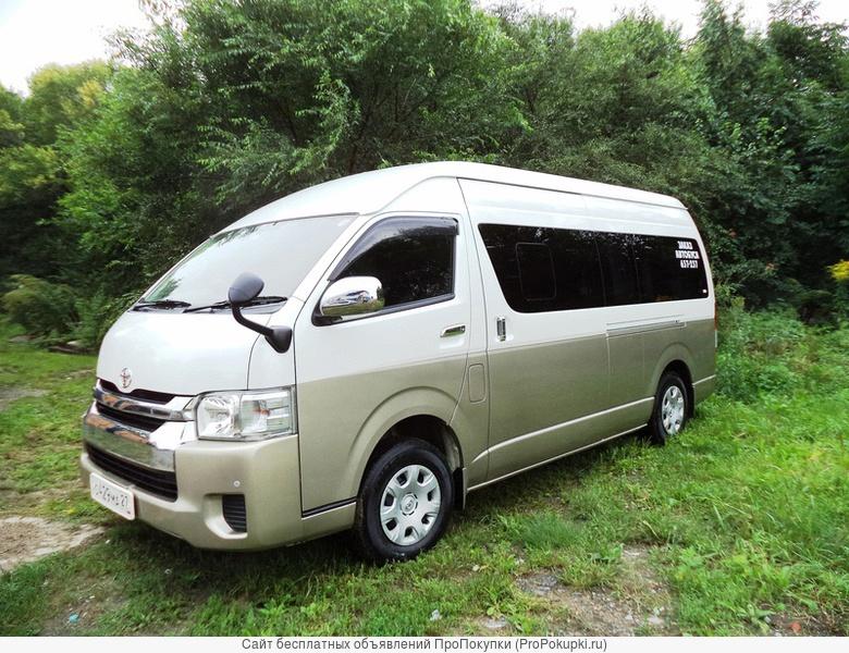 Заказ микроавтобуса, пассажирские перевозки в Хабаровске