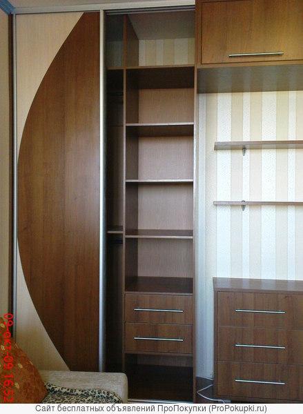 Изготовление шкафов-купе на заказ