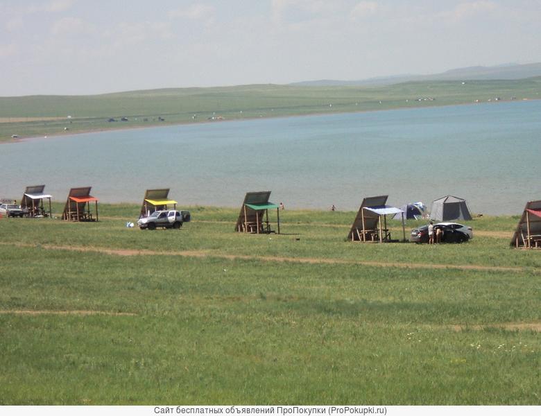 отдых на озёрах Хакасии, турбаза Старое Белё