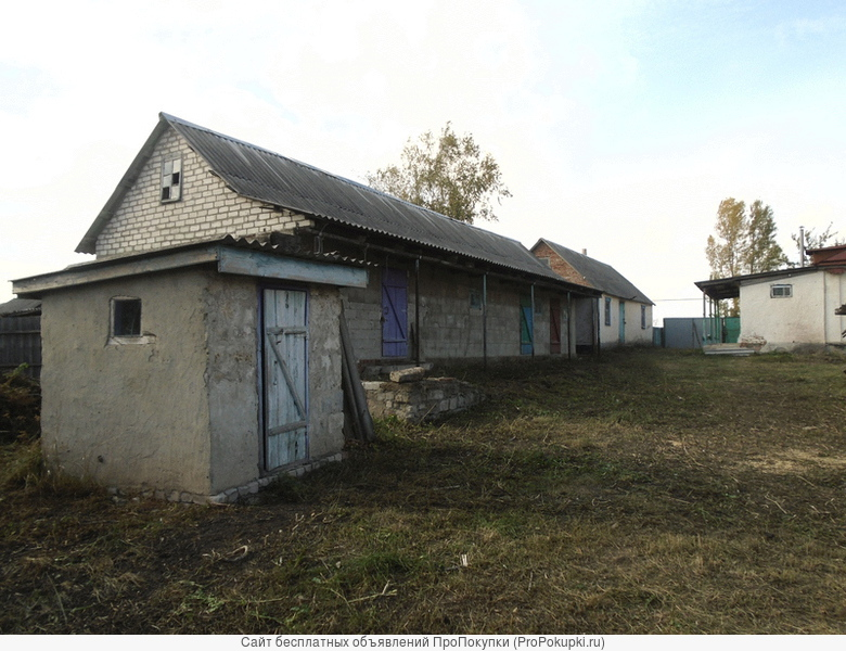 Продаётся дом с хоз. постройками