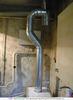 Устройство дымоотвода газового отопительного котла