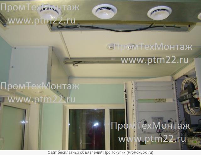 Монтаж инженерных сетей, монтаж систем вентиляции, отопления
