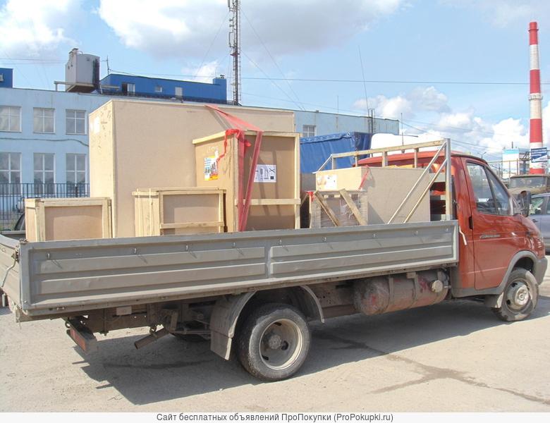 газель грузоперевозка открытая 4 метра из Челябинска в Тюмень