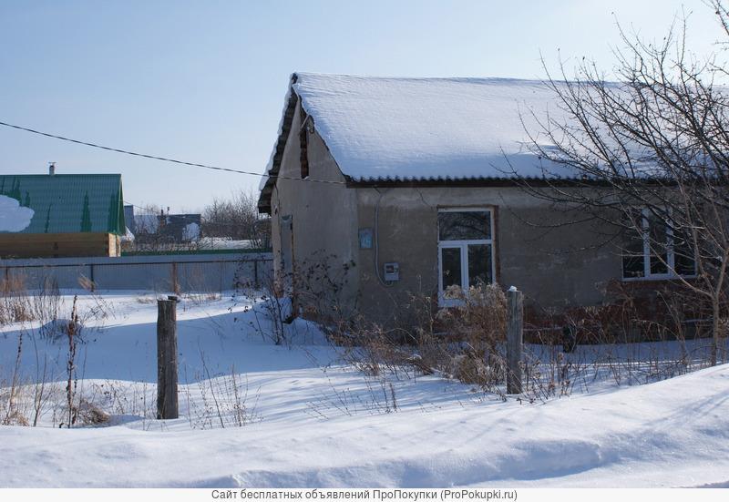 земельный участок д.ягодное 20км от уфы дом 39м недострой