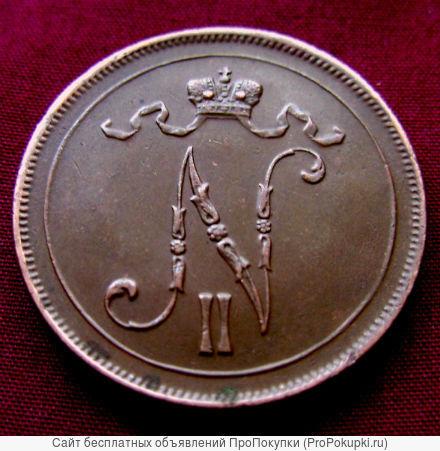 Редкая, медная монета