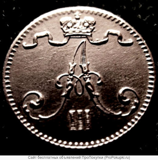 Редкая, медная монета 1 пенни 1833 года