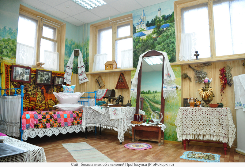 Приглашаем посетить Комнату казачьего быта!