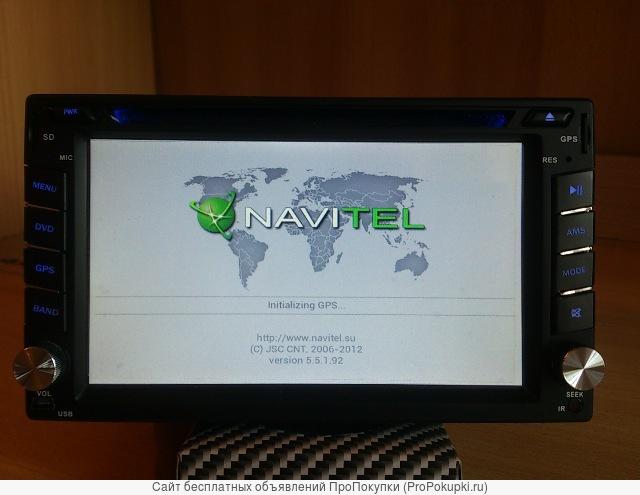 Автомагнитола 2DIN мультимедийная с GPS.Новая