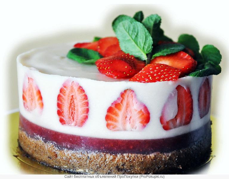 Вегетарианские, ПП и диетические торты
