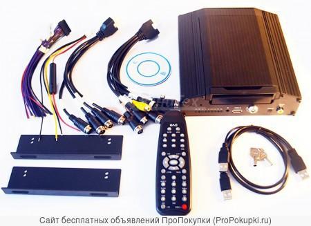 Автомобильный комплект для видео на 6 камер
