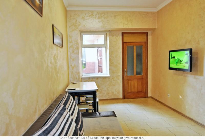 купить квартиру в центре Ялты с двором