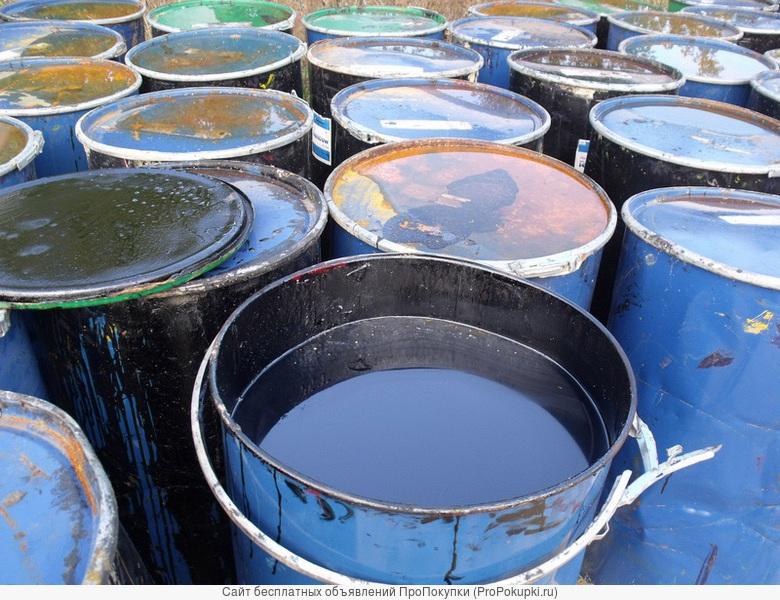 Купим отработанное масло разово или на постоянной основе