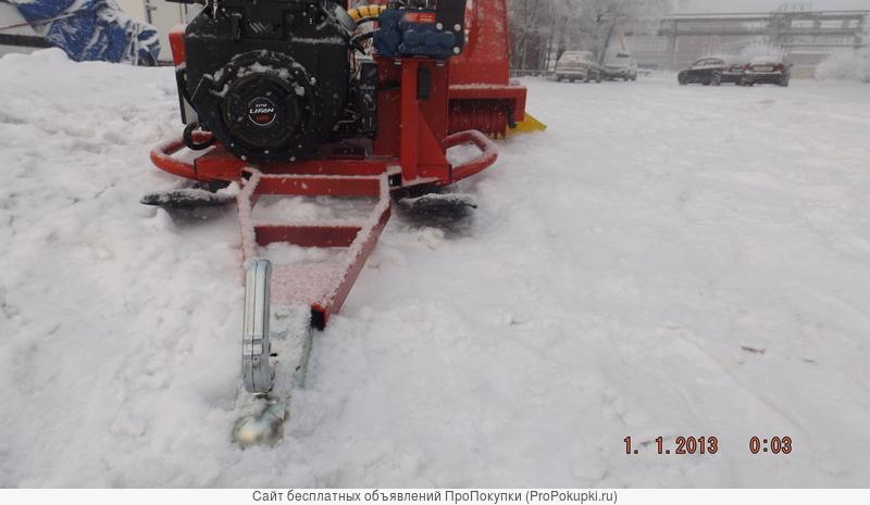 Фреза для укладки лыжных трасс «Snowmatic i1»