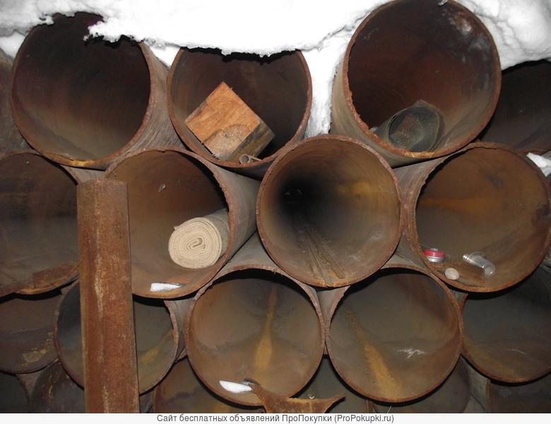 трубы металлические бесшовные диаметр - 412 мм