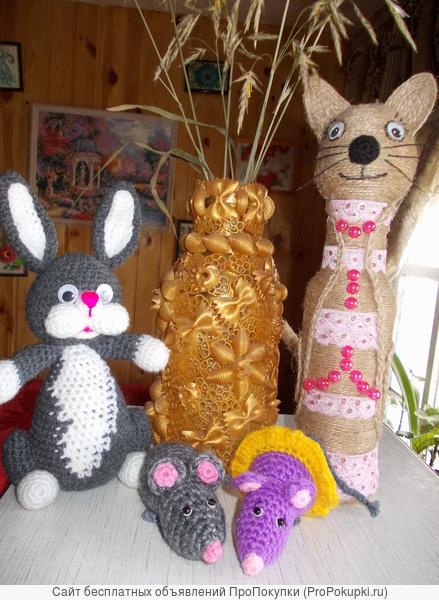продаю и вяжу на заказ оригинальные игрушки и подарки к праздникам
