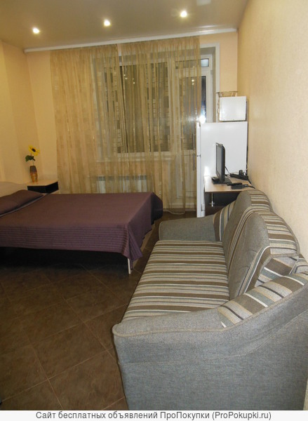 Сдам 1-комнатную квартиру посуточно на пл.Калинина, зоопарк.
