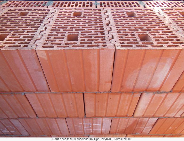 Продаем керамические поризованные блоки - теплая керамика
