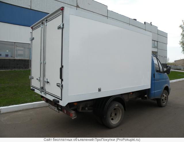 Фургоны изотерм, козырьки КАМАЗ