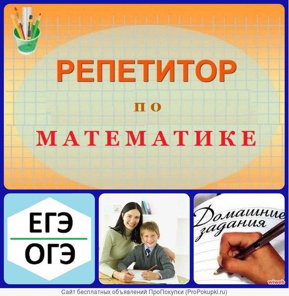 Опытные репетиторы по информатике, математике