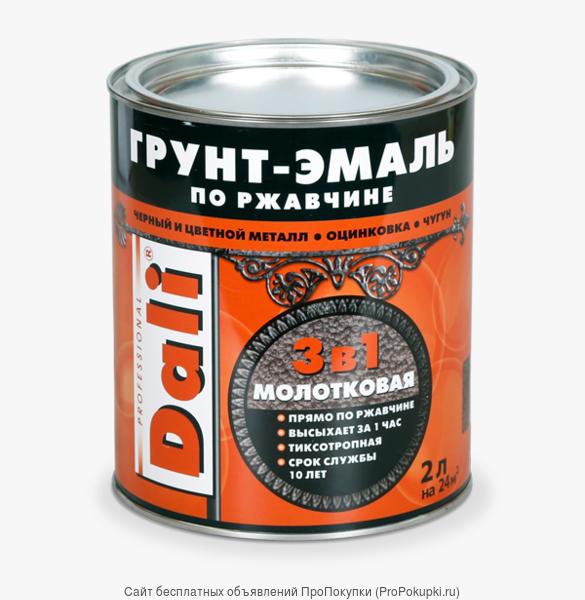 DALI Грунт-эмаль по ржавчине 3в1