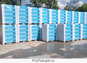 Газосиликатные блоки Bonolit 1 и 2 категория