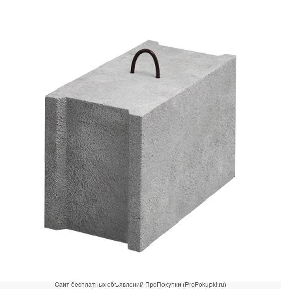 Фундаментные бетонные блоки 4.4.2