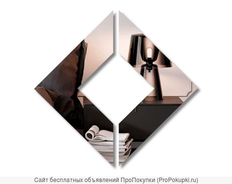 Декоративное зеркало из органического стекла Фигура 11