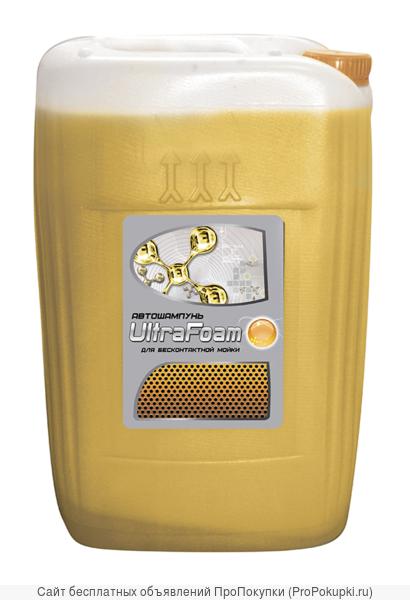 Автошампунь для бесконтактной мойки Vitex Ultra Foam (желтый),20л