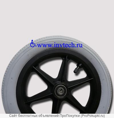 Колесо 203х62 мм, пневматическое в сборе для колясок