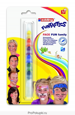 Грим-маркеры для раскрашивания лица