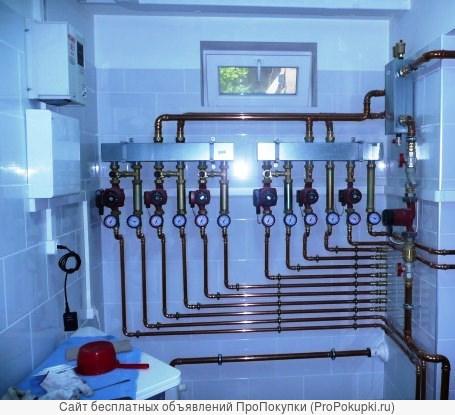 Профессиональный монтаж систем водоснабжения, отопления и канализации