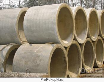 Звенья железобетонные круглых водопропускных труб ЗК.