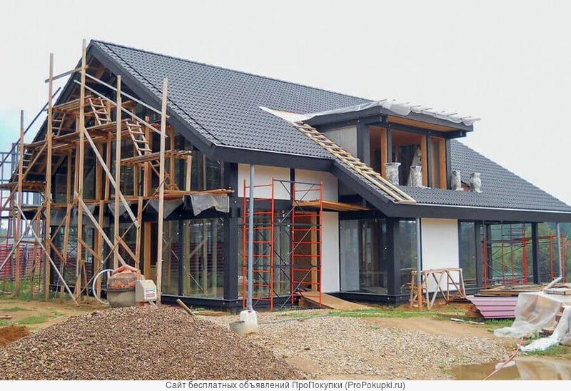 Строительство домов, коттеджей под ключ / Ремонт