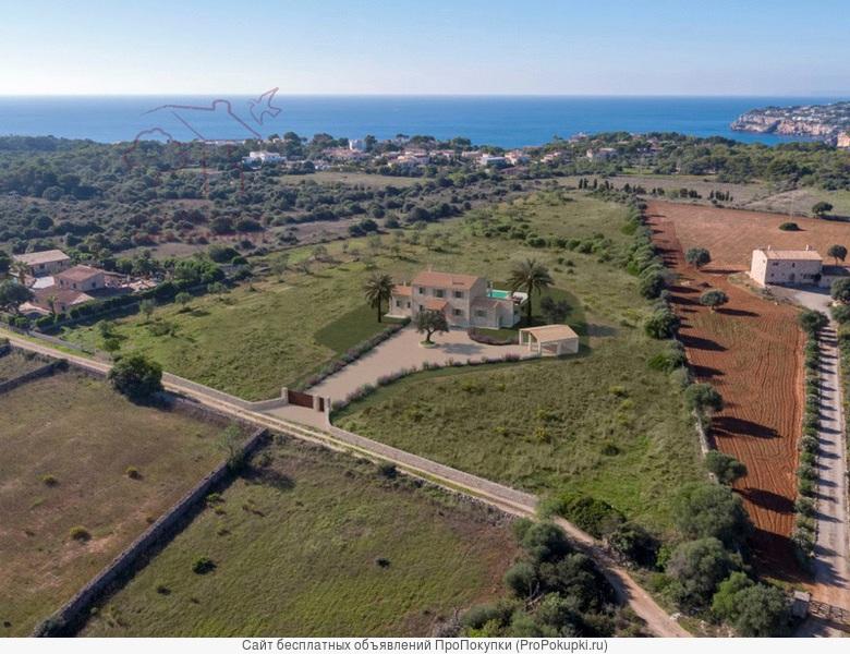 Эффектный деревенский дом с видом на море
