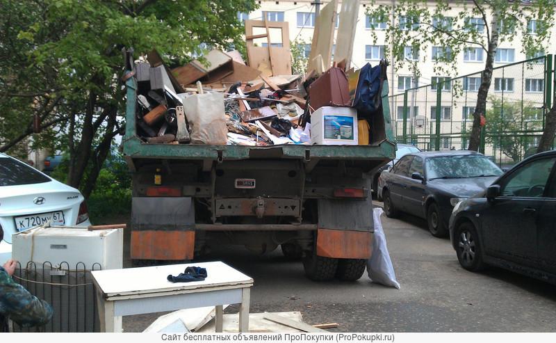 Очистим от старой мебели и хлама Вашу квартиру,дачу,гараж.